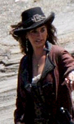 Pirates of the Caribbean: On Stranger Tides, Penelope Cruz con Depp sul set - La Cruz e Depp sul set