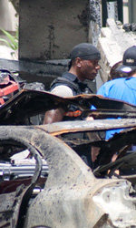 Transformers 3: Chicago sede della battaglia finale - Gibson sul set