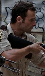 """The Walking Dead: la creazione del zombie, la """"ragazza sulla bicicletta"""" - Rick"""
