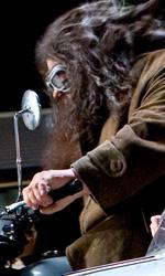 Harry Potter e i doni della morte: il 24� capitolo � il punto di rottura - Hagrid sulla moto di Sirius
