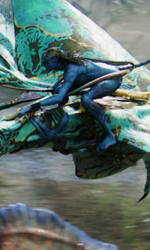 Avatar: Special Edition, il DVD conterrà 16 minuti extra - Neytiri su una Banshee
