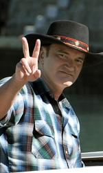 Venezia 2010: il photocall della giuria - L'arrivo in darsena di Tarantino