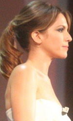 Venezia 2010: Isabella Ragonese madrina della serata d'inaugurazione - Isabella Ragonese con Marco M�ller