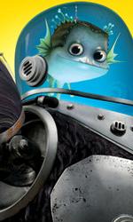 Megamind: i character poster di Minion, Metro Man e Megamind - Il character poster di Minion