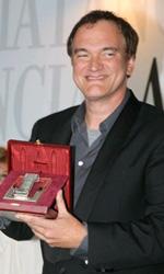Venezia 2010: Tarantino e la Swinton ritirano i Nastri d'Argento - Quentin Tarantino