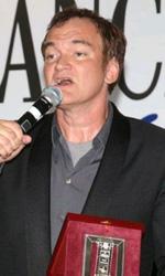 Venezia 2010: Tarantino e la Swinton ritirano i Nastri d'Argento - La Swinton e Tarantino