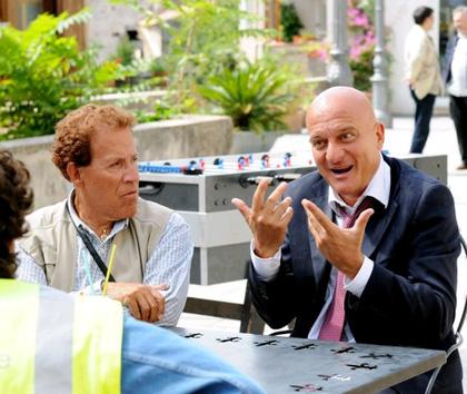In foto Giacomo Rizzo (78 anni)
