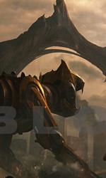 Voltron: tre concept art del live action - Il leone giallo all'attacco