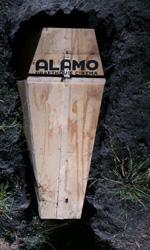 Buried: dovete aiutarmi - Le bare utilizzate per la proiezione dell'Alamo Drafthouse's Rolling Roadshow