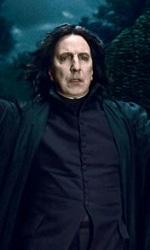 Harry Potter e i doni della morte: non puoi combattere da solo questa guerra Mr. Potter - Snape mentre apre i cancelli di Villa Malfoy