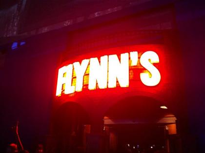 L'insegna della Flynn's Arcade -