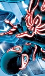 L'Universo Marvel contagiato da Tron: Legacy - L'uomo Ragno in Amazing Spider-Man #651