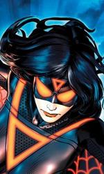 L'Universo Marvel contagiato da Tron: Legacy - La Donna Ragno in Avengers #7