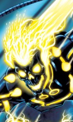 L'Universo Marvel contagiato da Tron: Legacy - Ghost Rider in L'incredibile Hulk #618
