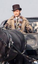 Le foto di Downey Jr. e Law al Richmond Park di Londra - Jude Law riprende i panni del Dr. Watson nel sequel di Sherlock Holmes.