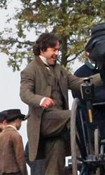 Le foto di Downey Jr. e Law al Richmond Park di Londra - Robert Downey Jr. sul set