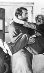 Un ricordo di Francesco Scardamaglia - Bud Spencer e Terrence Hill in una scena di <em>� altrimenti ci arrabbiamo!</em>
