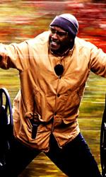Pine e Washington contro un treno senza controllo - Denzel Washington interpreta l'ingegnere Frank Barnes.