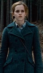 La featurette �Un epico finale� della 1a parte dei Doni della morte - Harry ed Hermione nella foresta.