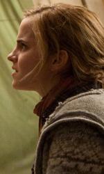 La featurette �Un epico finale� della 1a parte dei Doni della morte - Harry mentre discute con Hermione.
