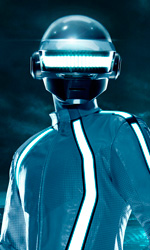 I Daft Punk nel video musicale Derezzed - Il look dei Daft Punk nel film.