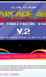I Daft Punk nel video musicale Derezzed - Uno screenshoot della 2a versione di ArcadeAid.com.