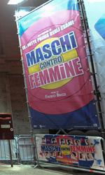 Un red carpet a tema per Maschi contro femmine - L'allestimento a tema curato dall'agenzia Armosia