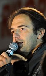 Roma 2010: Red carpet inaugurale bloccato dalla protesta - Neri Marcor� prende la parola sul palco