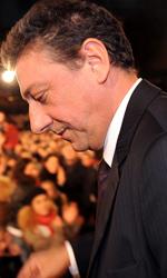 Roma 2010: Red carpet inaugurale bloccato dalla protesta - Il Presidente della giuria internazionale Sergio Castellitto