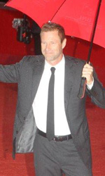 Il photocall e il red carpet di Aaron Eckhart - Il red carpet
