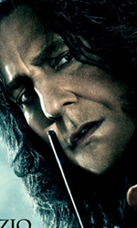 I sei character poster italiani di Harry Potter e i doni della morte - Il character poster di Severus Snape (Alan Rickman).