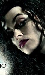 I sei character poster italiani di Harry Potter e i doni della morte - Il character poster di Bellatrix Lestrange (Helena Bonham Carter).