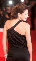 Roma 2010: Kill me Please miglior film - Claudia Gerini sul red carpet.