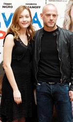 Un amore vissuto orgogliosamente - Cristiana Capotondi e Filippo Nigro al photocall.
