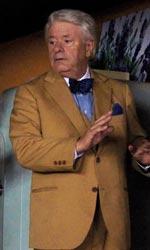 Lino Banfi torna a vestire i panni del nonno - Tino con il figlio e il compagno del figlio.