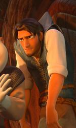 La fotogallery di Rapunzel - L'Intreccio della Torre - Il principe della favola di Raperonzolo � diventato il ladro Flynn Rider.