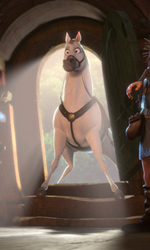 La fotogallery di Rapunzel - L'Intreccio della Torre - Il cavallo di Flynn, Maximus.