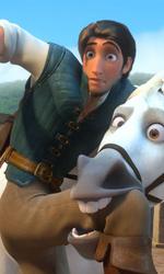 La fotogallery di Rapunzel - L'Intreccio della Torre - Flynn e Maximus mentre litigano.