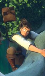 La fotogallery di Rapunzel - L'Intreccio della Torre - Maximus e Flynn mentre stanno precipitando.