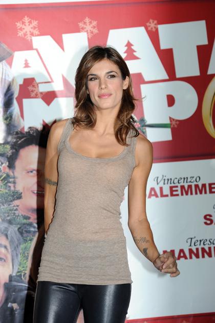 In foto Elisabetta Canalis (38 anni)