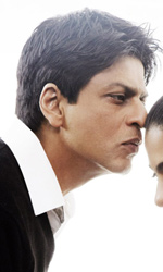 La fotogallery del film Il mio nome è Khan - Shah Rukh Khan e Kajol in una scena del film Il mio nome è Khan.