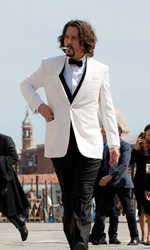 La fotogallery del film The Tourist - Johnny Depp interpreta Frank Taylor.