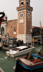 La fotogallery del film The Tourist - Il set veneziano del film The Tourist.