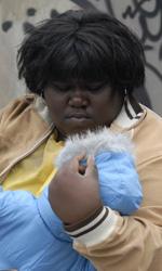 Film nelle sale: la dolce magia di Raperonzolo - Gabourey Sidibe in una scena del film Precious.