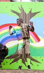 Le foto ufficiali del film Jackass 3D - Johnny Knoxville in una scena del film <em>Jackass 3D</em>.
