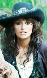 Trailer italiano e foto di Pirati dei Caraibi 4: Oltre i Confini del Mare - Jack Sparrow e Angelica.