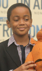 Crescere in un mondo d'amore - Michael Rainey Jr. al photocall del film Un altro mondo.