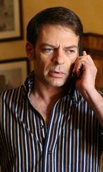 Caccia all'Ottavo Re di Roma - Federico Fedeli al telefono.