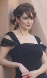 Riso amaro - Lorenza Indovina al photocall del film Qualunquemente.
