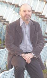 Riso amaro - Giulio Manfredonia al photocall del film Qualunquemente.